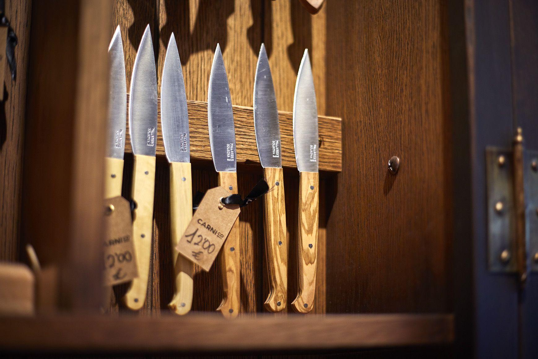 Mantenimiento de cuchillos