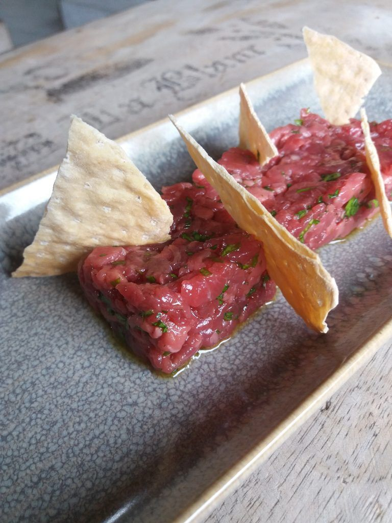 Receta Steak tartar al oloroso