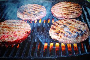Barbacoa de hamburguesas